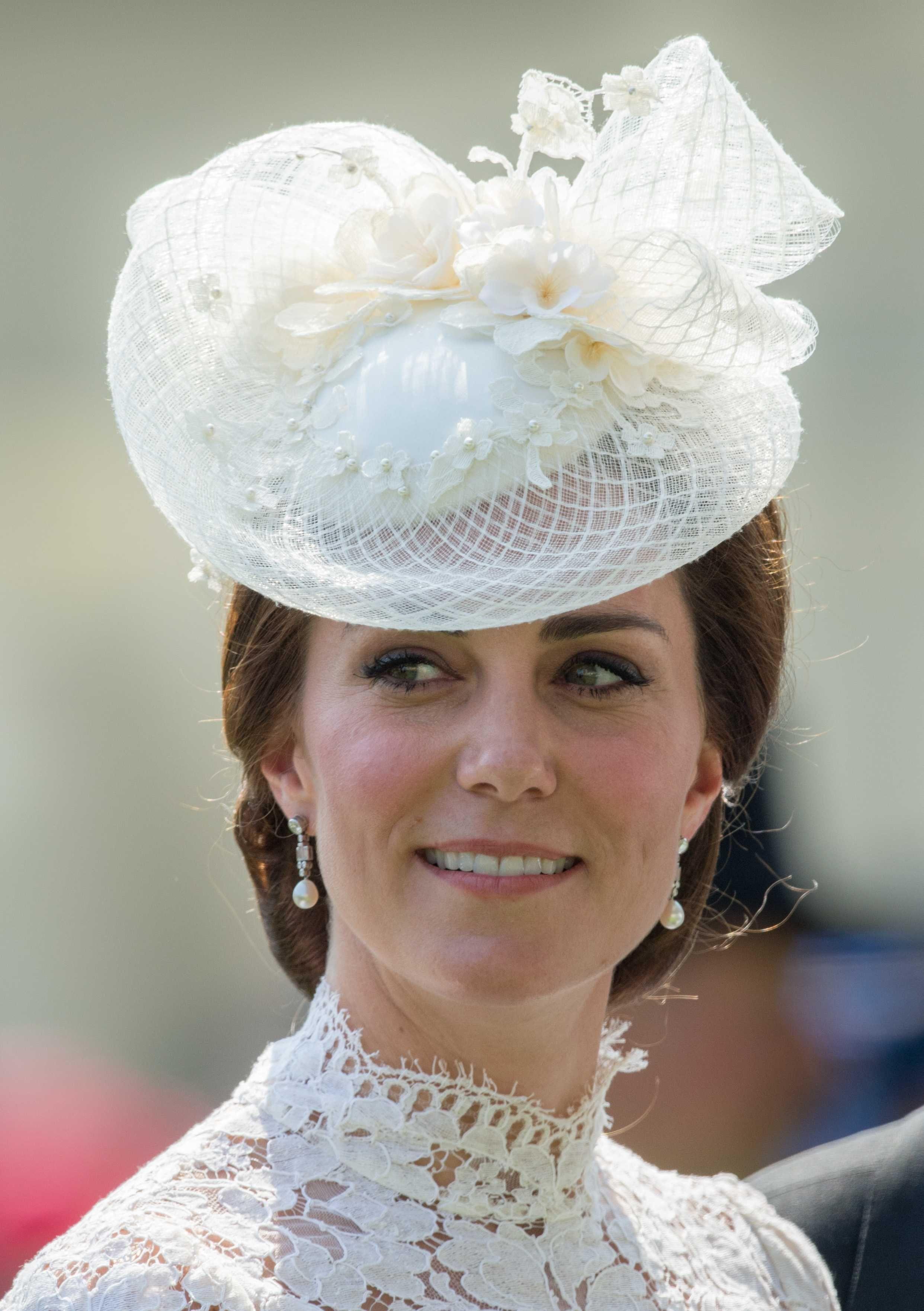 Catherine at Royal Ascot 2017 Fascinator Hats eb370977050