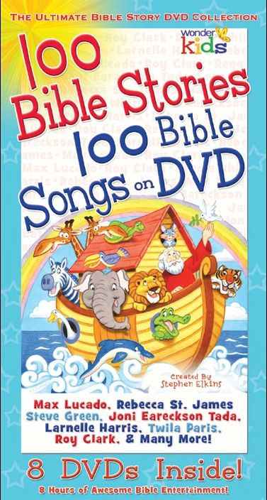 8 Dvds Inside 100 Stories Broken Out In Themes Of Animals Story