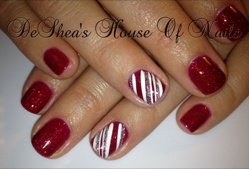 Shellac Nails With Images Christmas Shellac Nails Christmas Nails Shellac Designs