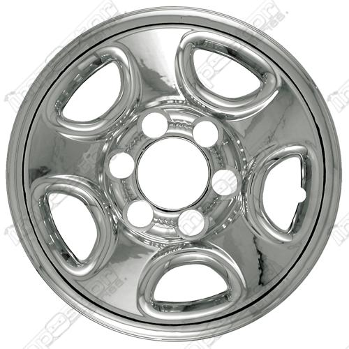 Chevrolet Tahoe 2000 2006 Chrome Wheel Covers 5 Flat Spokes 16