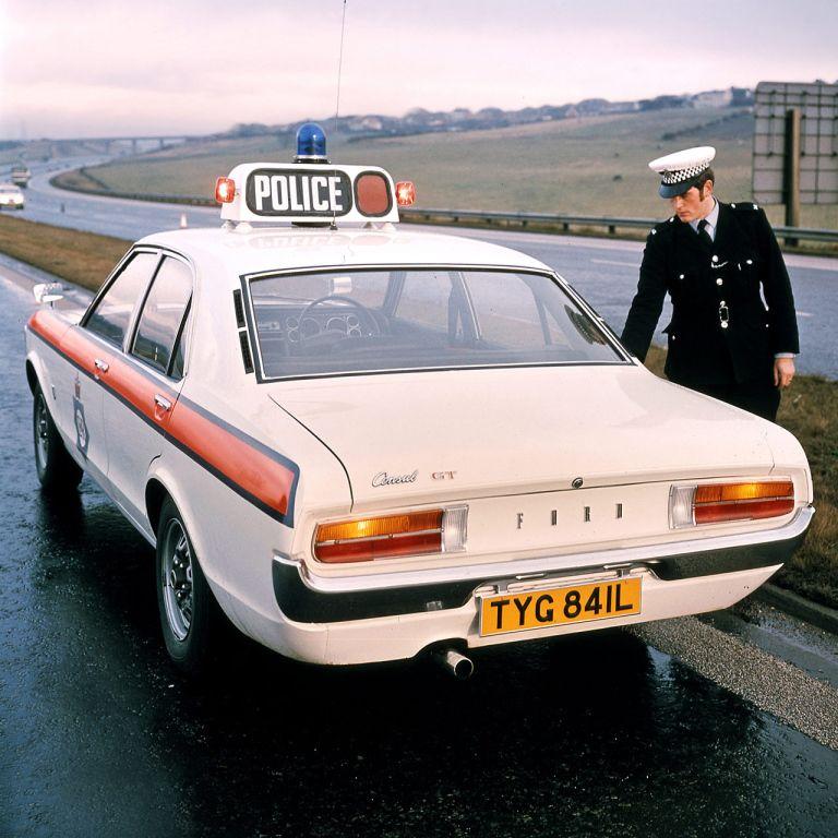 1978 UK Ford Granada Consul GT British police cars
