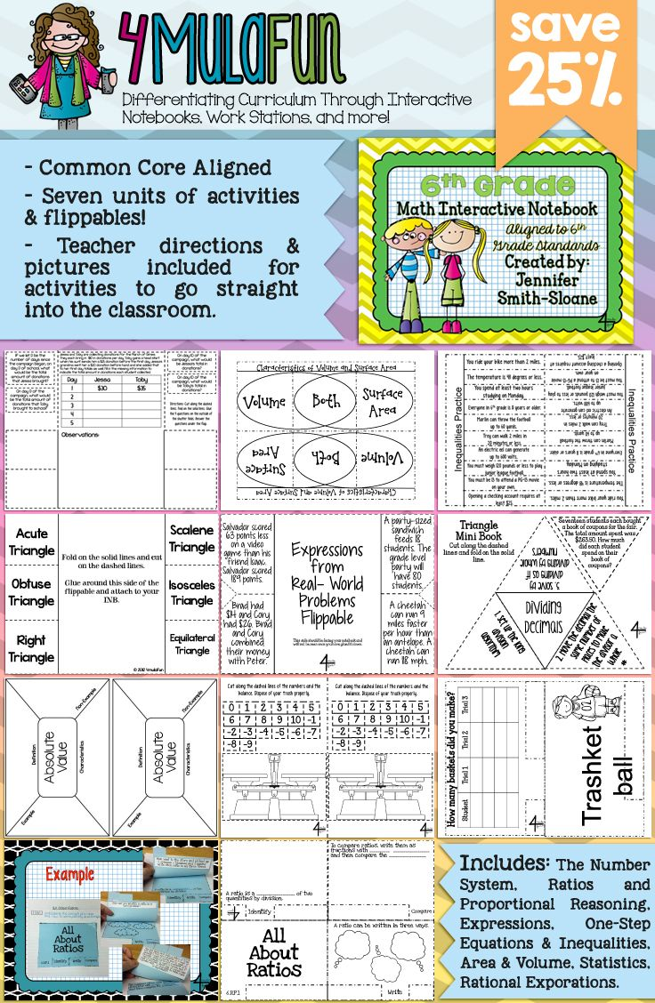 Are you looking for an Interactive Notebook for 6th Grade Math? This set of resources not only contains everything you need to cover 6th grade skills but also provides teaching tips, full color photos and more! Aligned to Common Core Standards and Texas Essential Knowledge and Skills.