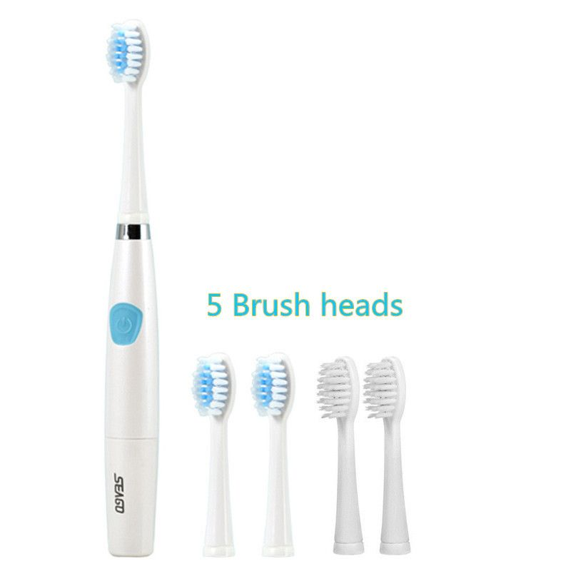 seago sg 612 electric sonic toothbrush intelligent 2 mins timer 5