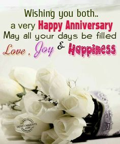 wishing a friend a happy anniversary