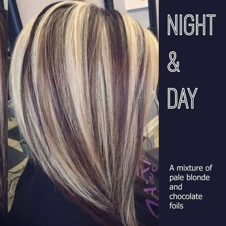 This but with dark burgundy and blonde hair and makeup this but with dark burgundy and blonde highlights in blonde hairdramatic pmusecretfo Gallery
