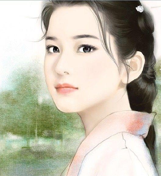 中国美人画 古香 古韵 上條淳士イラスト 絵画 アジア美人 Und 中国美人