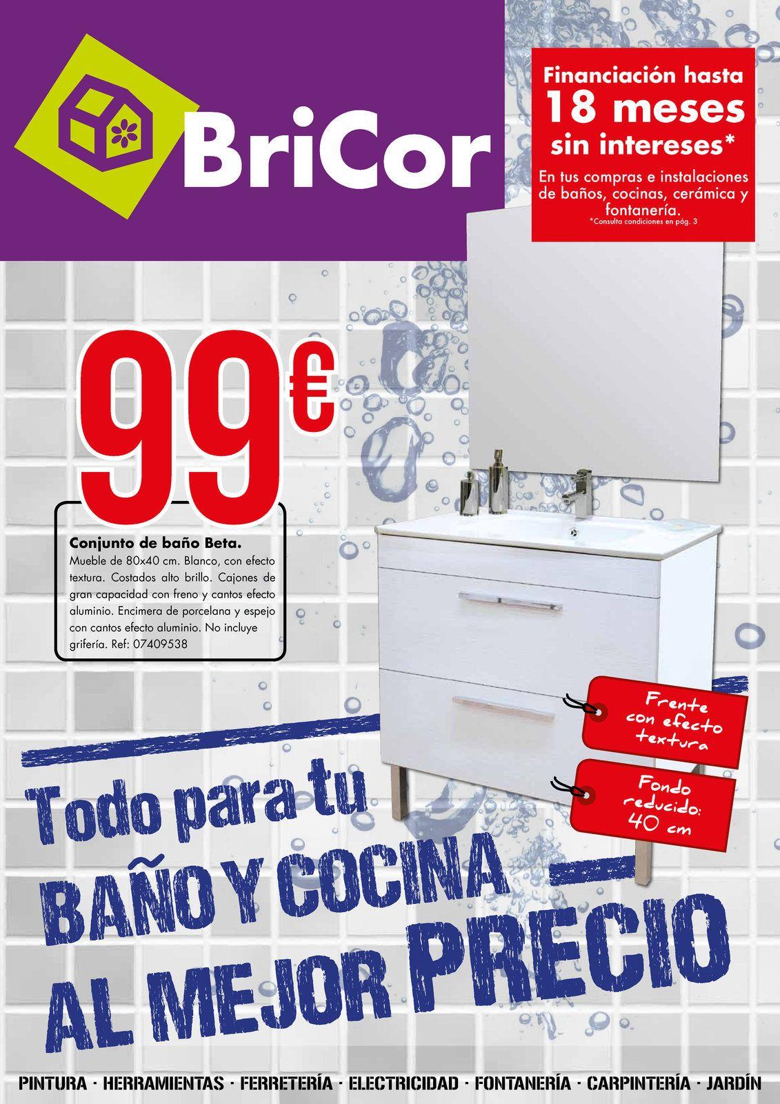 Todo para tu baño y cocina en Bricor, aquí el catálogo http://www ...