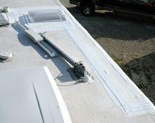 How To Repair Rv Epdm Rubber Roof Best Materials Diy Roofing Rv Roof Repair Repair