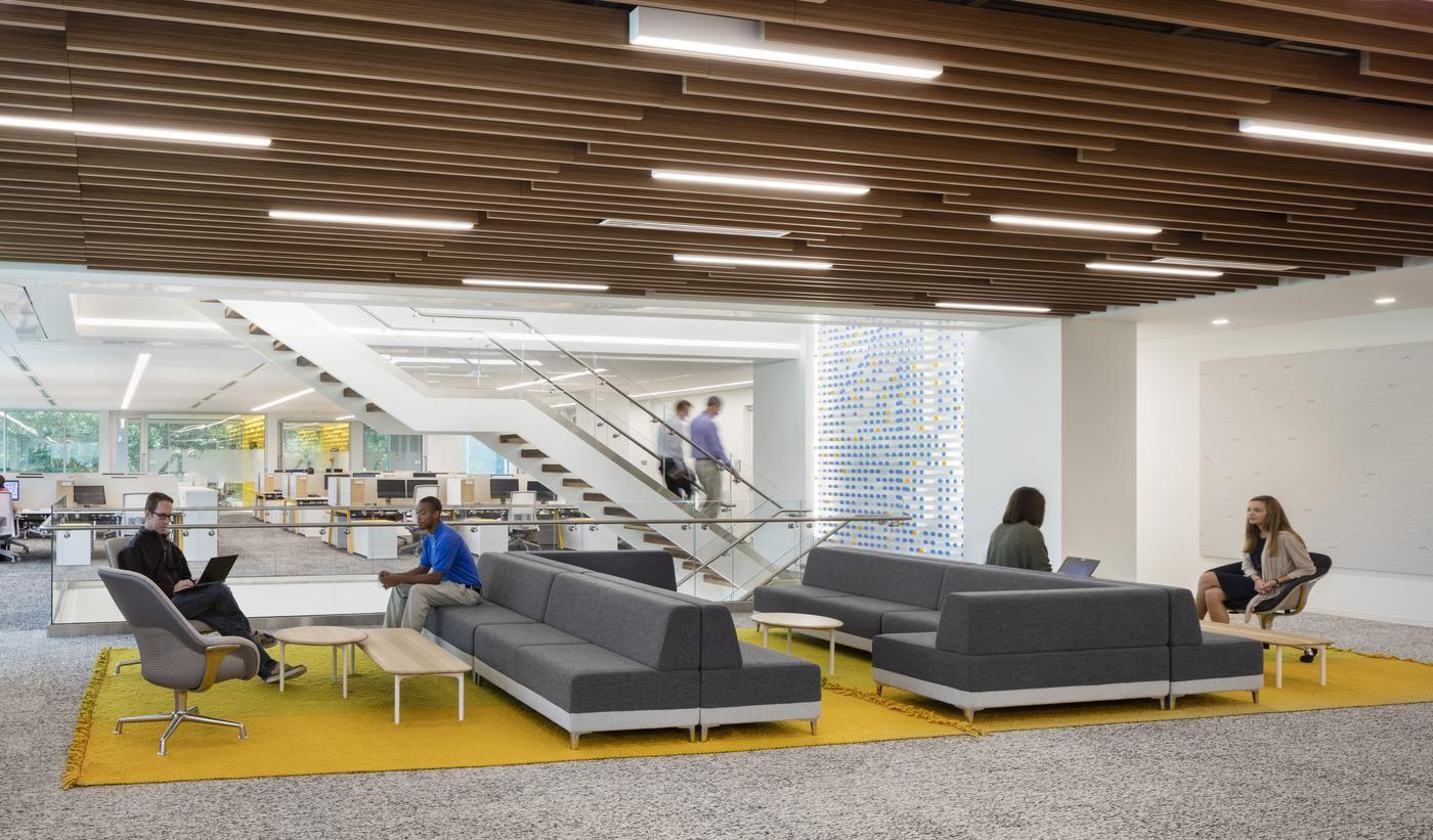 award winning office design. Newell Brands, Atlanta Office Renovation \u2013 Design Award | People\u0027s Choice Winning