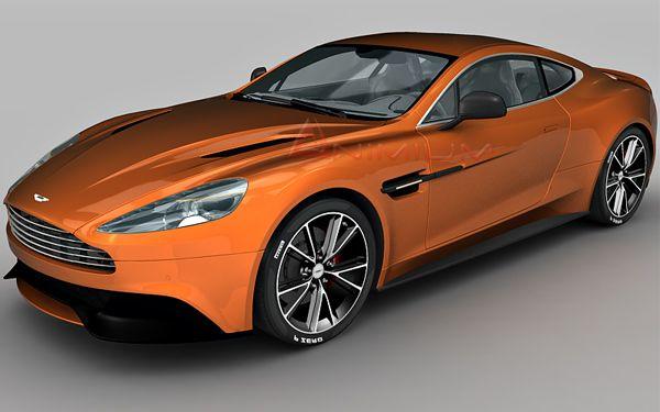 Aston Martin Vanquish 3d Model Aston Martin Vanquish Aston Martin Models Aston Martin