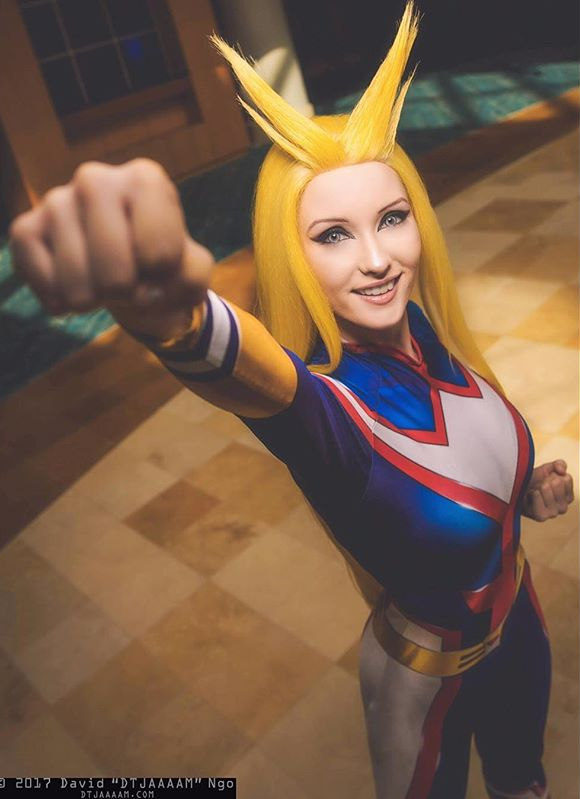 All Might from My Hero Academia by Alex DeBerry @ instagram.com ...