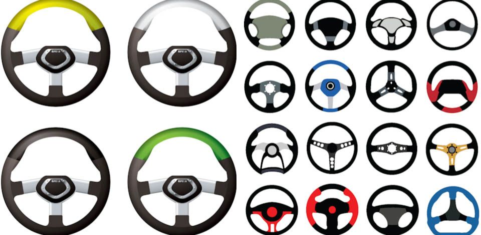 car steering wheels vector steering wheel wheel car car steering wheels vector steering