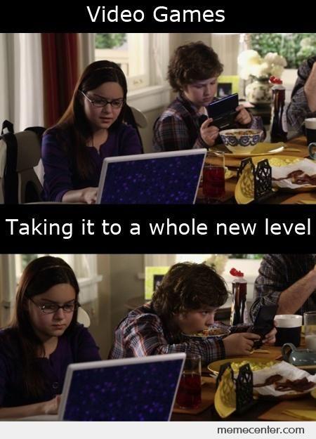 Meme Center Largest Creative Humor Community Family Video Games Modern Family Memes Modern Family