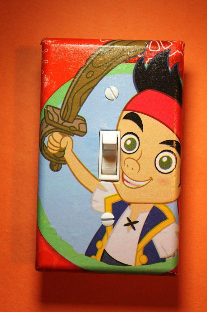 Jake & Neverland Pirates Light Switch Cover kids child boys girl