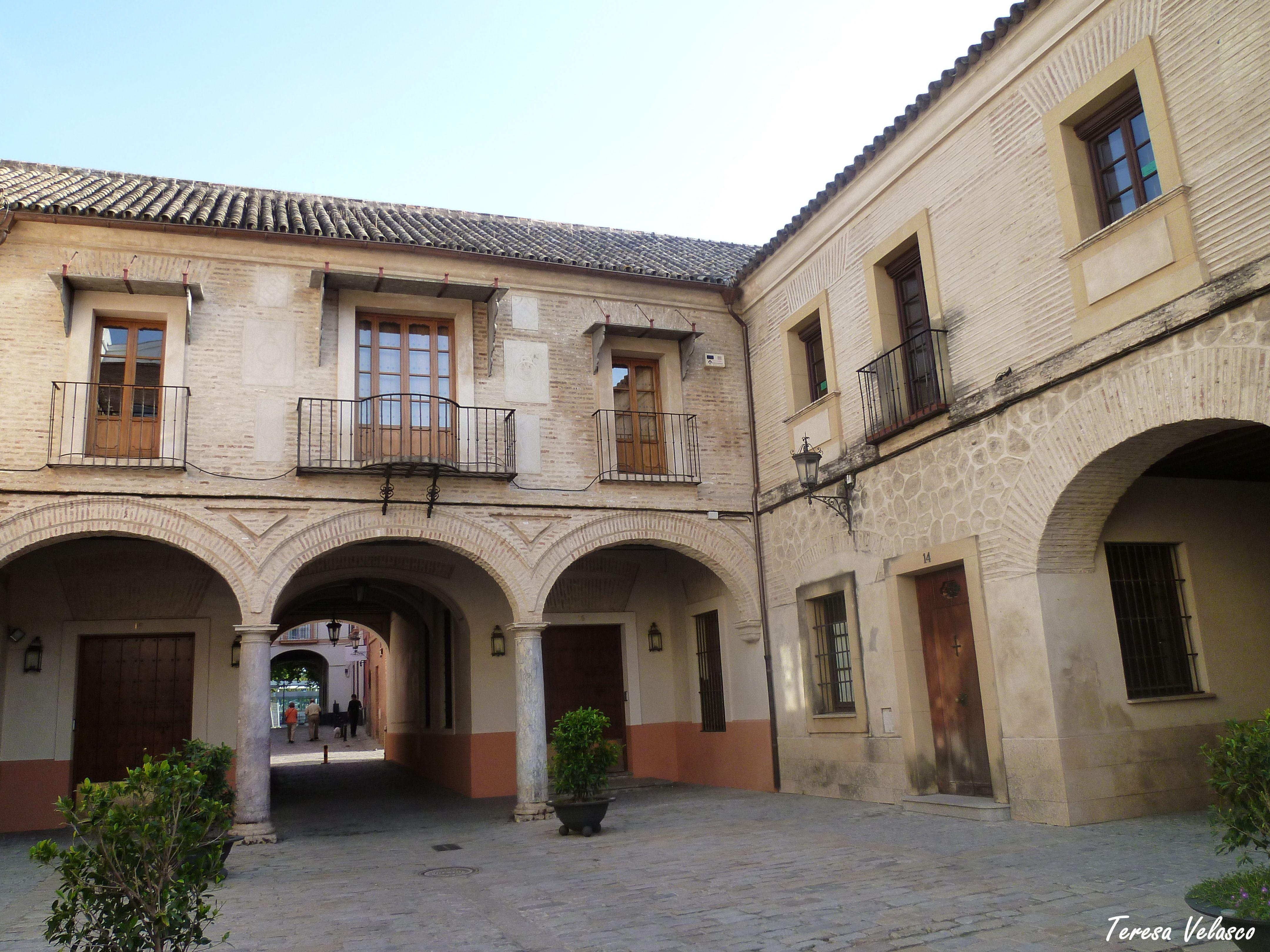La plaza de la Casa de la Moneda.