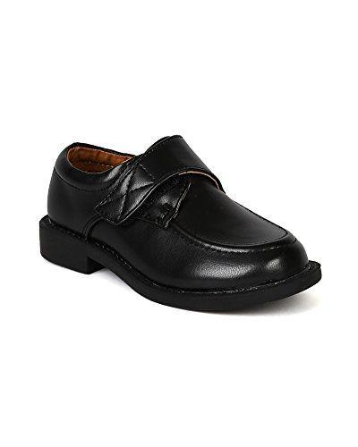 Velcro Strap Dress School Shoe (Toddler