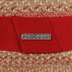 Photo of Stetson Tricolour Toyo Trilby Strohhut Strandhut Fedora Sommerhut Sonnenhut Hut Stetson