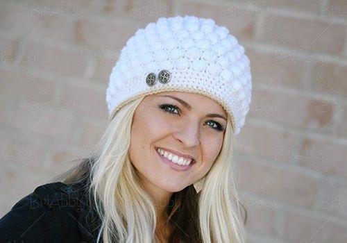 Bobble Stitch Hat Pattern  cc4af5e974b