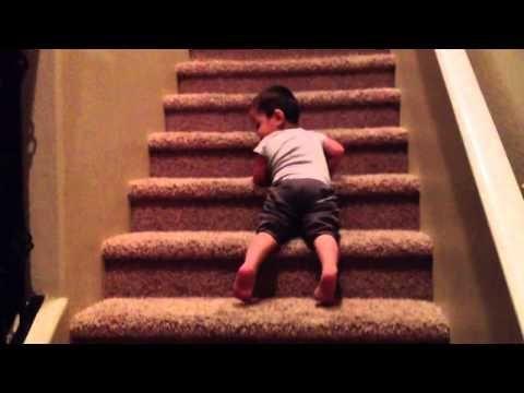 Kids Falling Down Stairs