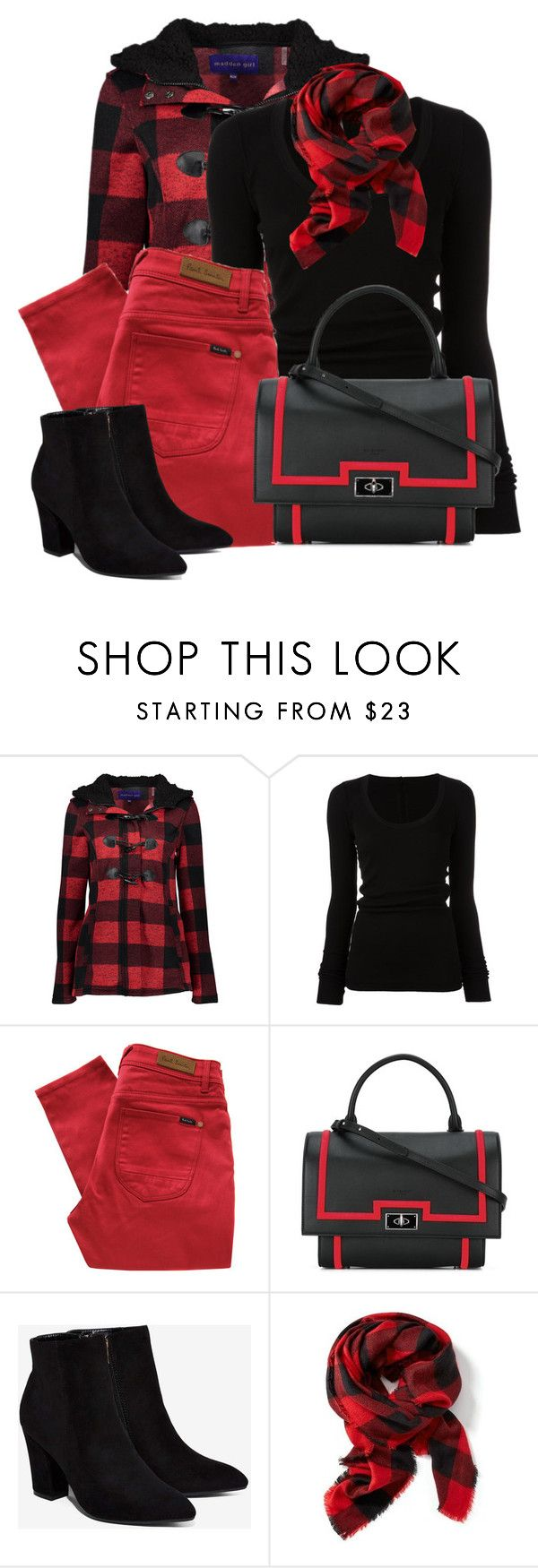 """""""Untitled #6194"""" by cassandra-cafone-wright ❤ liked on Polyvore featuring Madden Girl, DRKSHDW, Paul by Paul Smith, Givenchy, Billini, Old Navy and plus size clothing"""