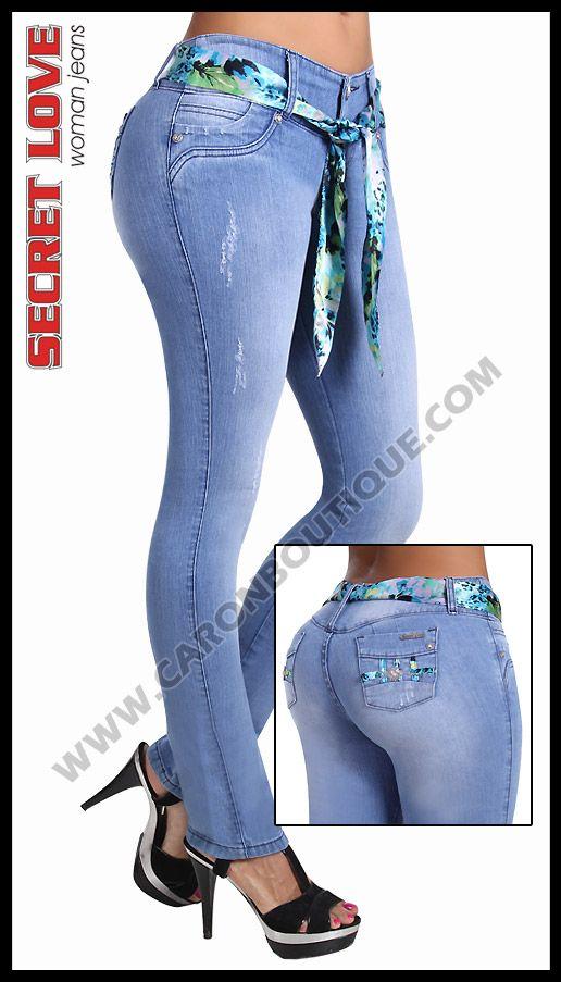 Jeans Levanta Cola Nueva Coleccion Ska Studio Jeans De Moda Pantalones De Moda Ropa De Moda