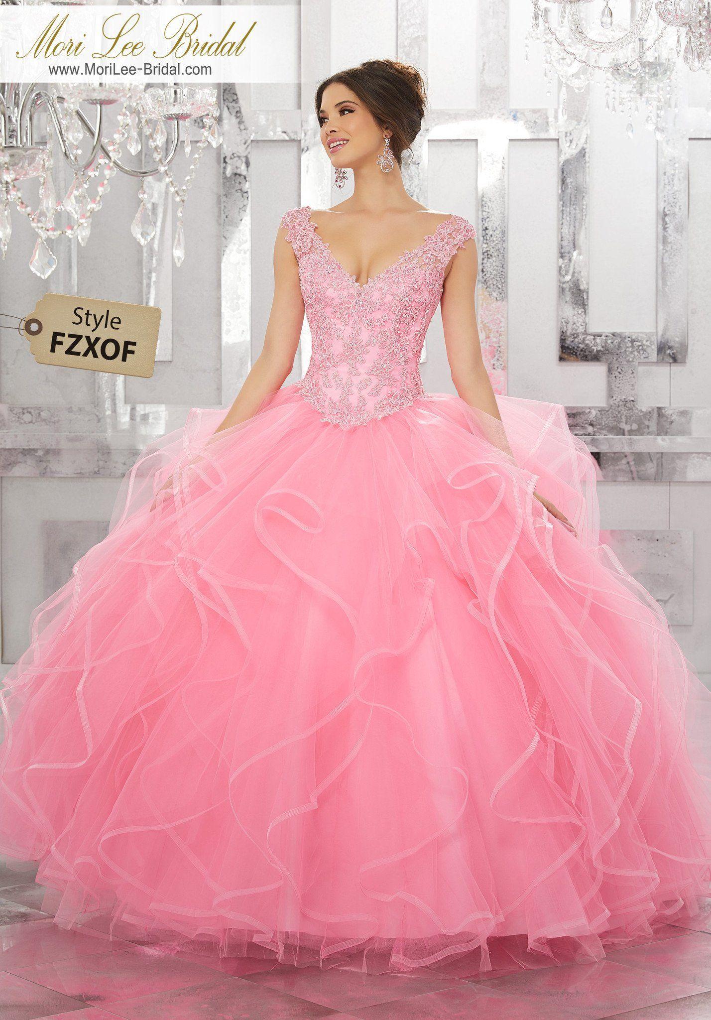FZXOF - Mori Lee Bridal | Vestidos | Pinterest | Vestidos para xv ...