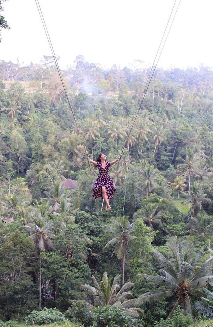 Ubud Jungle Swing Bali Indonesia travel, Bali vacation