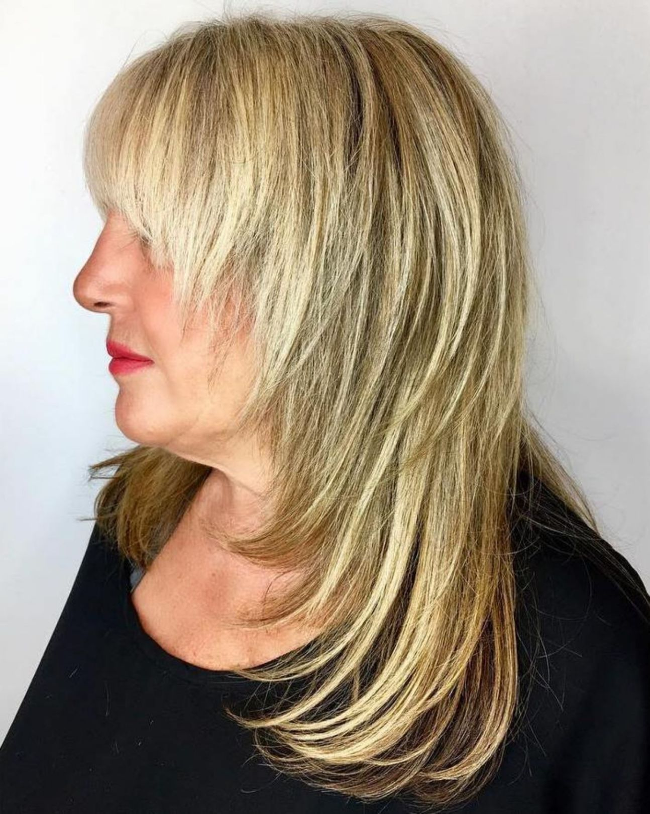 20 Shaggy Hairstyles for Women with Fine Hair over 50 - # ...