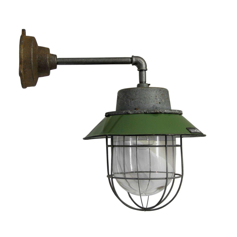 Kocser Wall Light Green Via 360volt Com Industrial Wall Lamp Industrial Wall Lights Wall Lights