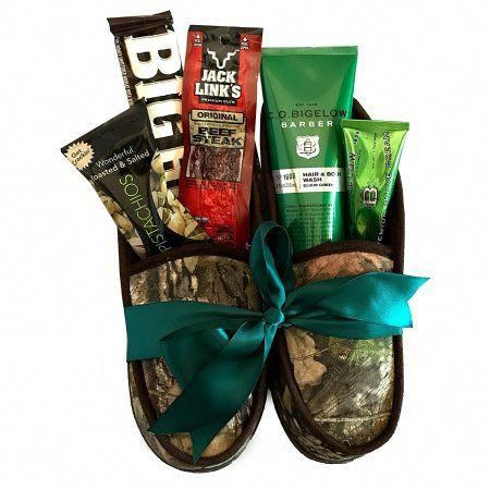 Outdoors Men Spa Gift Basket #UniqueChristmasGifts