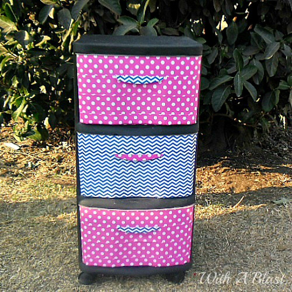 S 10 Clever Ways to Decorate Plastic Bins Home Decor Storage Ideas
