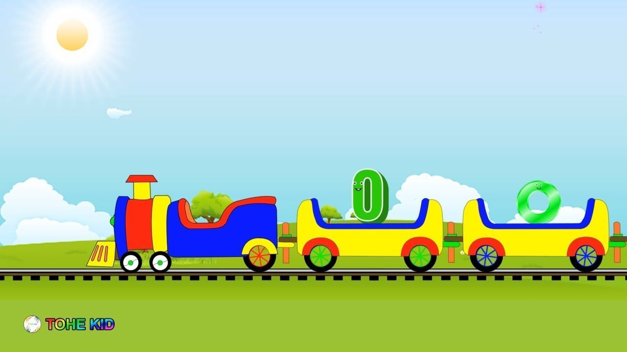Learn Alphabet O Train| Learning The English Letter O Phonics For ...