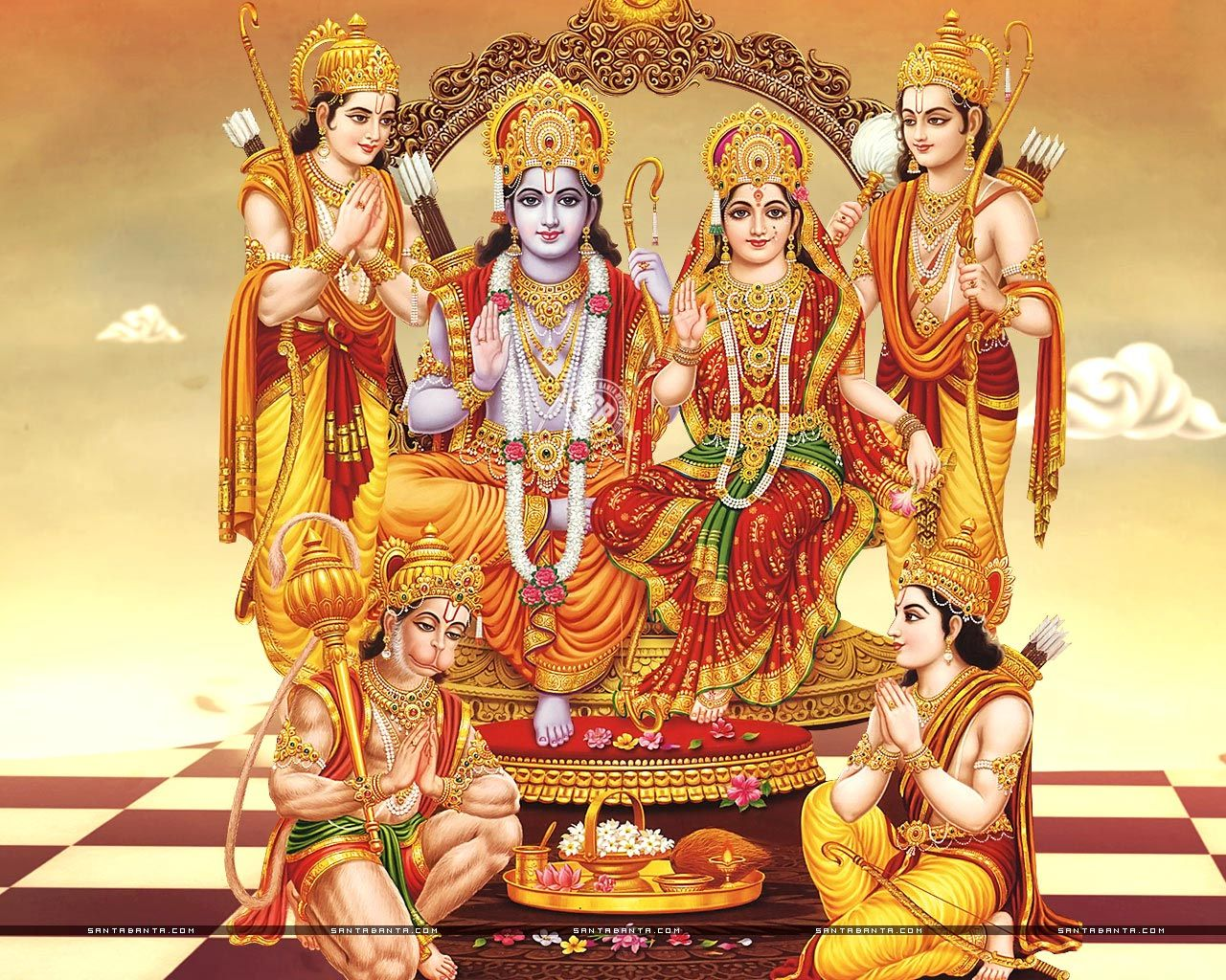 Wallpaper download karna hai - Ram Darbar Wallpapers Photos Free Download