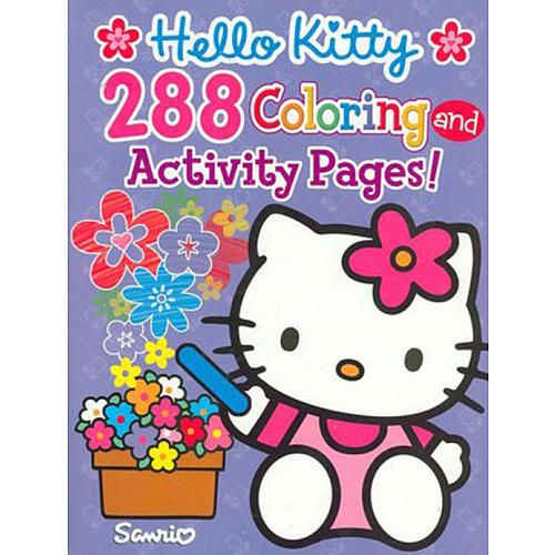 Hello Kitty Coloring And Activity Book