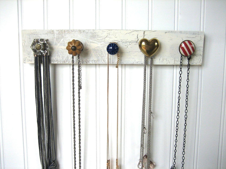 Nautical Necklace Organizer for Hanging Jewelry Diy jewelry