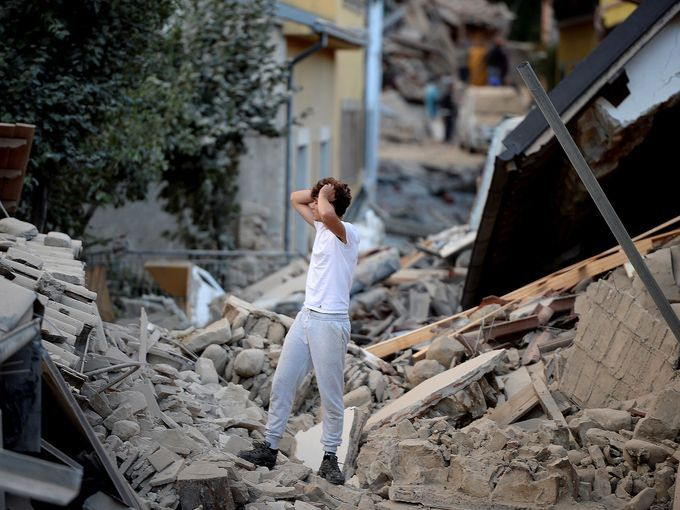 Devastating earthquake hits central Italy