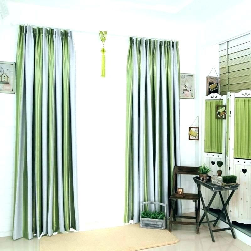 Perfect Black And White Vertical Striped Curtains Pics
