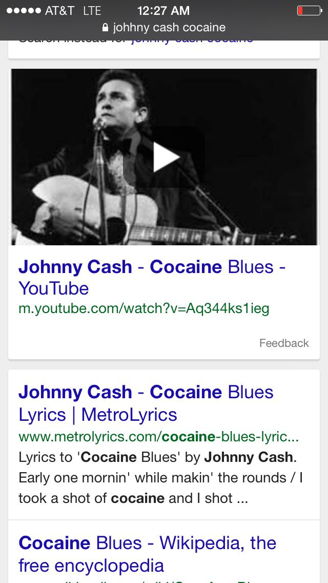Lyric lyrics to cocaine : Johhny cash - cocaine blues | Johnny Cash | Pinterest | Johnny ...