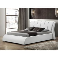 Courtney Upholstered Standard Bed