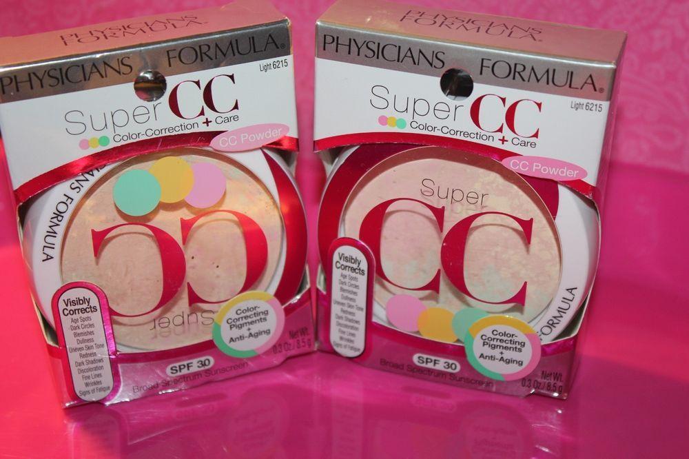 2X Physicians Formula Super CC ColorCorrection & Care