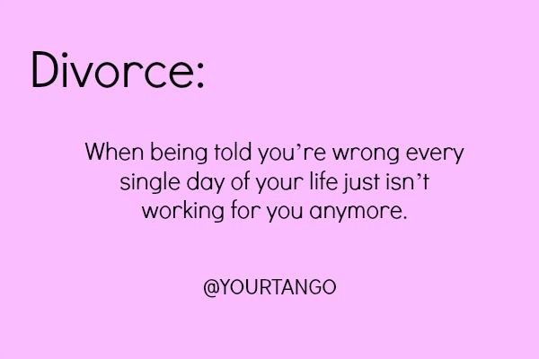 15 Hilarious Quotes To Help You Get Over Your Divorce With A ...