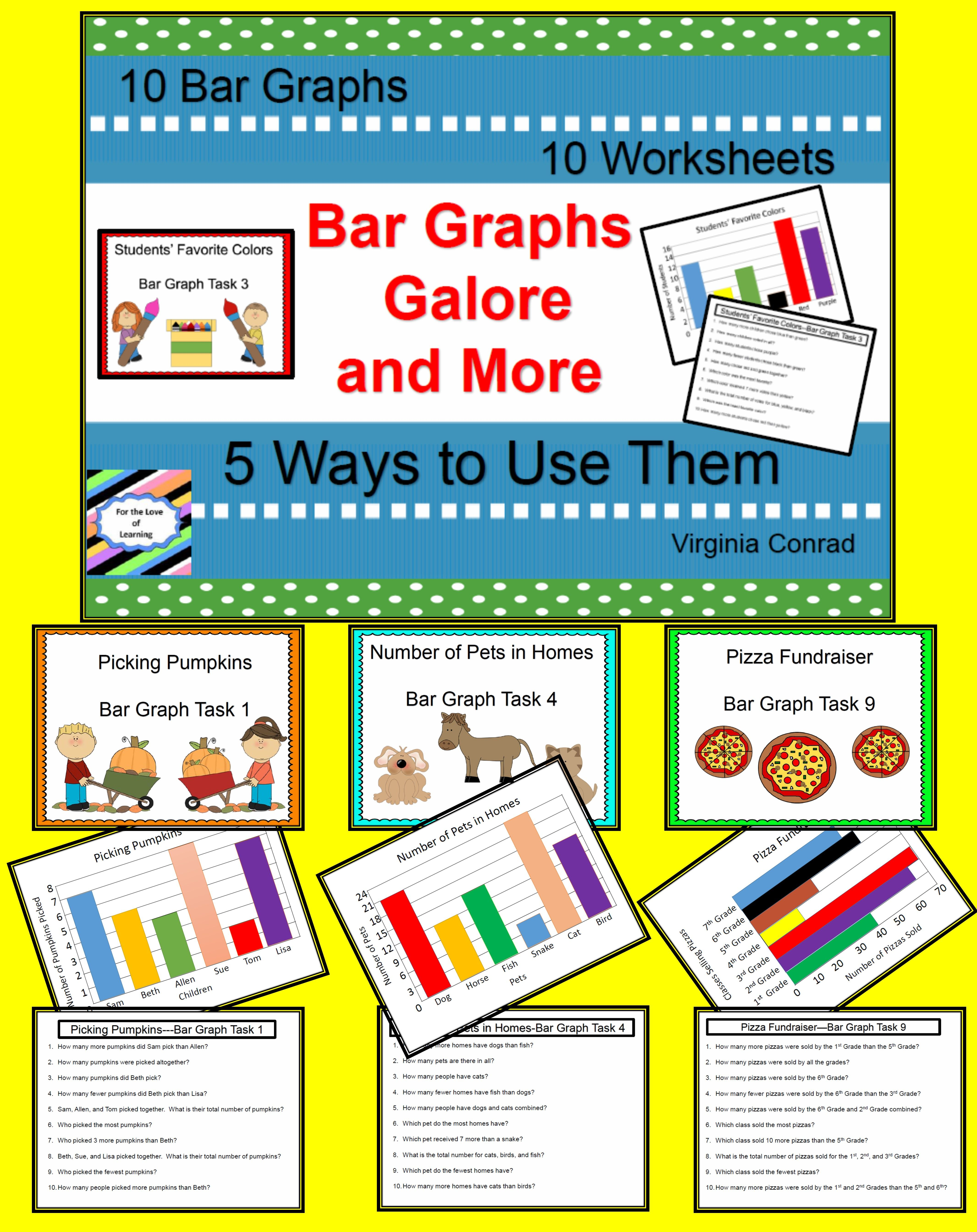 Bar Graphs And More