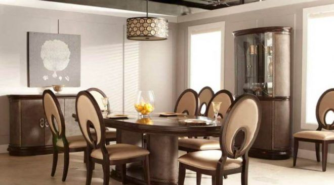 Genial Modern Classic Dining Room