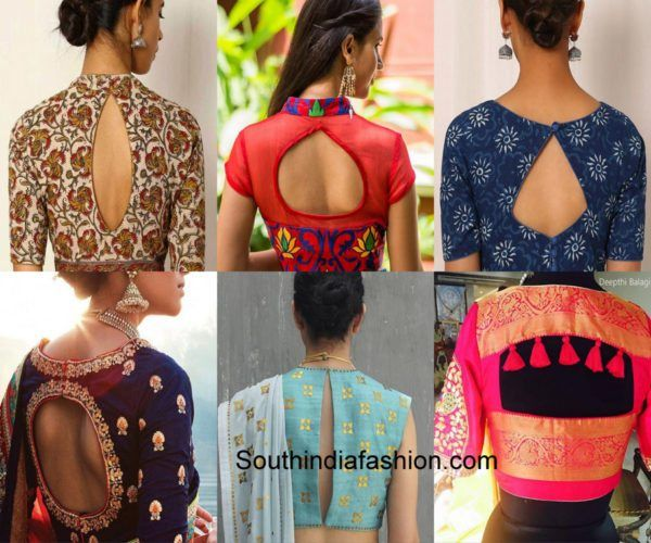 6 Must Have Saree Blouse Designs for Diwali #blousedesigns
