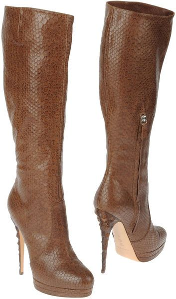 81319546a68 Women s Brown High Heeled Boots