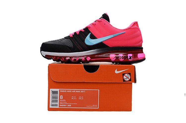 Nike Air Max 2017 Running Women Shoes Black Pink Air max women