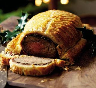 """Consider Beef Wellington: """"Enjoy Christmas cooking recipes and learn how to make Beef Wellington. Gordon Ramsay makes the perfect prepare-ahead Christmas Day main course, a show-stopping alternative to turkey."""" Or for any special occasion during the year."""