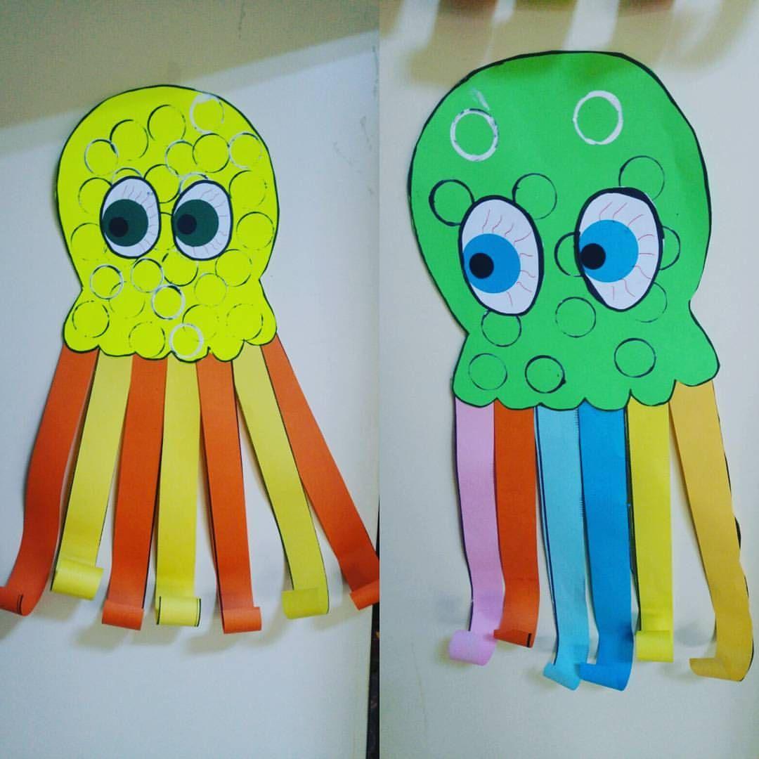 Octopus Craft Idea For Kids