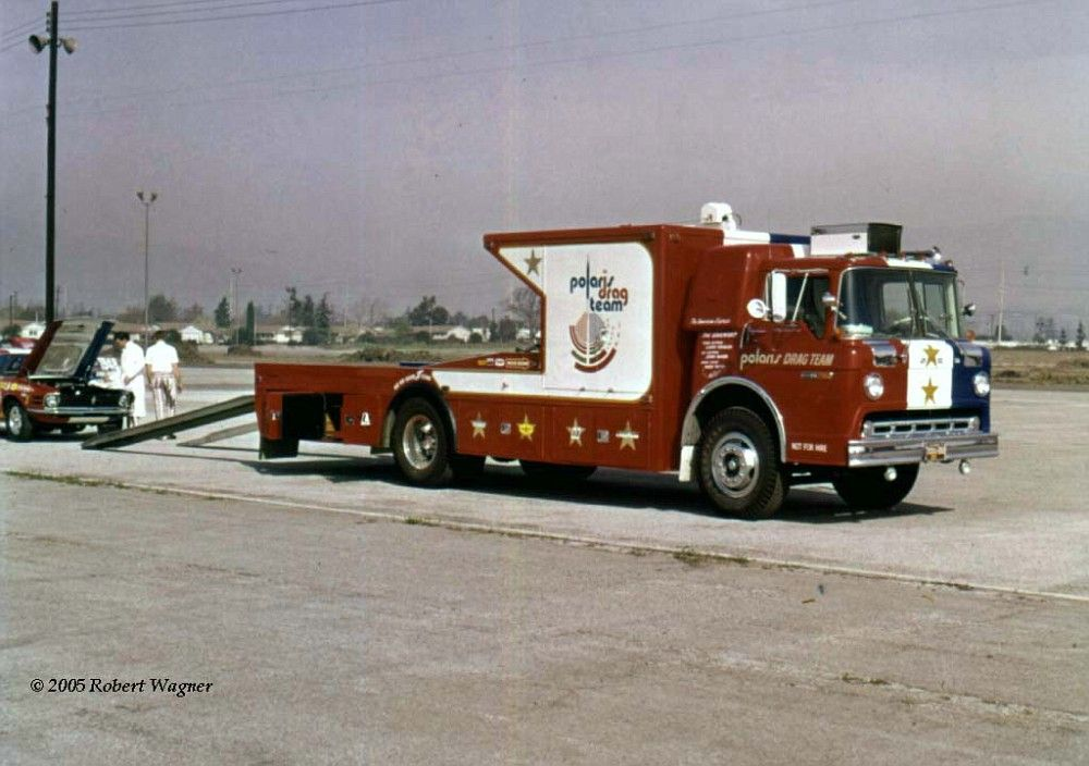 Polaris Ford C900 Ramp Truck Drag Team 3 Jpg Haulers