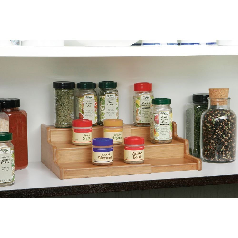 Organic Spice Rack Simple 20 Spice Rack Ideas For Both Roomy And Cramped Kitchen  Kitchen Design Decoration
